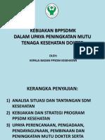 Paparan PPSDM-Denpasar 9 Juni
