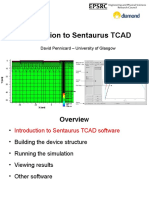 Introduction to Sentaurus TCAD