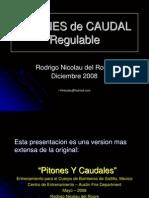 PITONES Caudal Regulable Nicolau