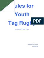 Tag Rules Junior