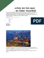 5 Productos en Los Que México Es Líder Mundial