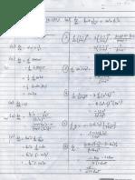 微积分作业1与评测练习