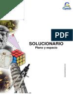 Solucionario Guía Práctica Plano y Espacio 2013