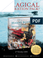 Harry Potter Illustrated Edition Celebration Pack