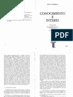 1- Habermas - Conocimiento e Interes