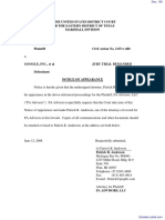 PA Advisors, LLC v. Google Inc. et al - Document No. 138