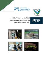 Proyecto Aula Naturaleza Valparaíso 16-17