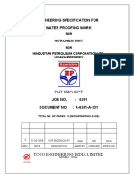 Water Proofing Work Hpcl