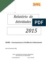 Relatório de Actividades 2015