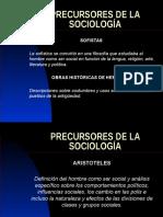 Precursores de La Sociología