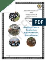 GUIA METODOLOGICA DE CAPACITACION EN HABILIDADES FRENTE AL RIESGO DE DESASTRES