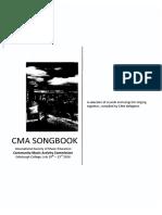 CMA Songbook (International Society of Music Education)