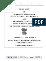 Report on NI_2014-15