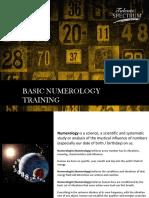 Modul Numerology Training