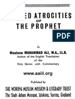 Alleged Atrocities of the Prophet (1924) - Muhammad Ali