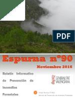Boletín Espurna - Noviembre 2016