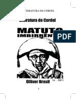 MATUTO IMBIRRENTO