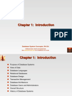 Ch1(Introduction-Database System Concepts)