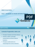 Aula_01 - Direito Eleitoral