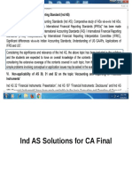 Ind AS Solutions for CA Final Class.ppsx