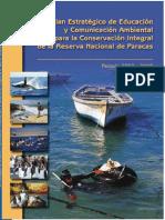 PACEA Plan Educacion y Comunicacion Ambiental Paracas