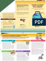Guia Sobre Preparacion de Alimentos y Prevencion de Salmonella o Enfermedades Alimentarias
