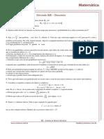 9° Simulado - IME - Discursivo