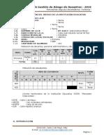 Plan de Gestión de Riesgo de La Institución Educativa 2016-Ok