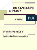 Plain Background Power Point Slides Chapter 2 Transaction Analysis 4878