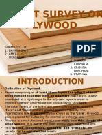 Market Sorvey on Plywood