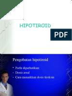 JUNI 2010 Hipotiroid terapi.ppt