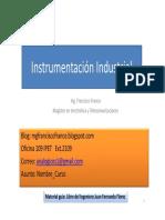 Instrumentación Industrial - Clase 1