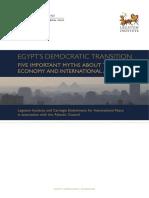 Egypts Democratic Transition