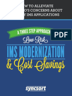 A Three Step Approach to IMS Modernization