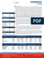Report on Stock Trading Report by Mansukh Investment & Trading Solutions 25/06/2010