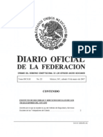 Nueva Ley ISSSTE Marzo 2007