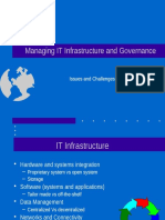 Managing IT Infra & Governance