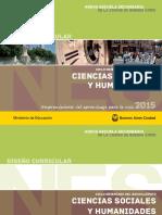 Diseño Curricular. Formación Específica. Cs. Sociales