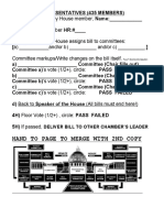 Congress Bill Form 2