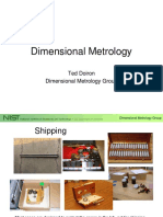 SIM Dimensional Metrology Lecture Ted Doiron