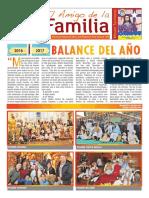 EL AMIGO DE LA FAMILIA domingo 1 enero 2017