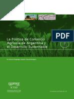 La Politica de Comercio Agricola de Argentina y El Desarrollo Sustentable