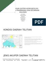 Perbandingan Sistem Hidrogeologi