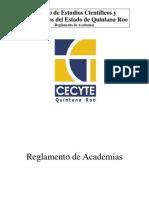 REGLAMENTO ACADEMIAS CECYTEQROO