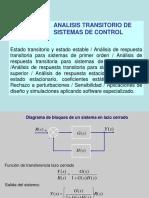 Sistemas de Primer Orden, Etc