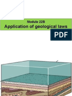 Module 22B - Application of Geological Laws
