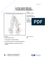 Atomic Structure of the Cystic Fibrosis Transmembrane Conductance Regulator 2016 Cell