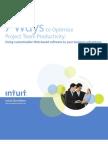 Intuit WP Proj Team Productivity Final