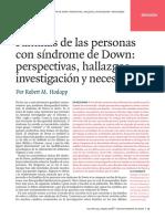 FAMILIAS CON PERSONAS CON SÍNDROME DE DOWN