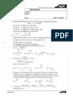 II Iit (Irp) Chemistry Ws-15